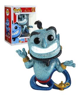 Funko Pop Genie With Lamp 476 - Aladdin Diamond Original