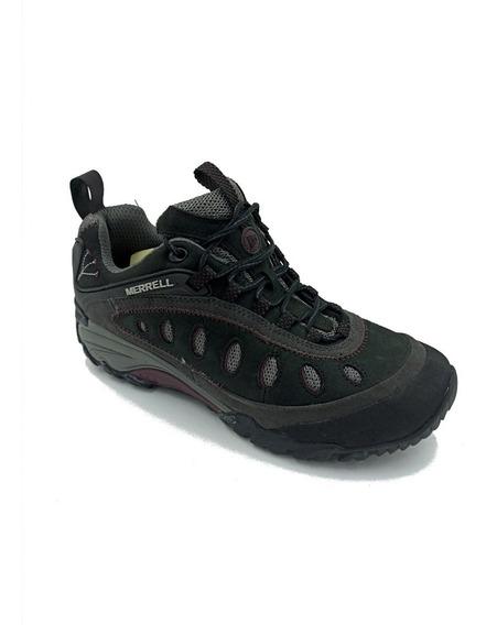 Zapato Merrell Chameleon Color Negro/gris Suela Vibram