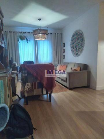 Imagem 1 de 11 de Apartamento Com 3 Dormitórios À Venda, 90 M² Por R$ 380.000 - Bosque - Campinas/sp - Ap5052