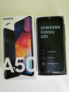 Samsung Galaxy A50 64gb Tornasol Dual Sim Liberado En Caja