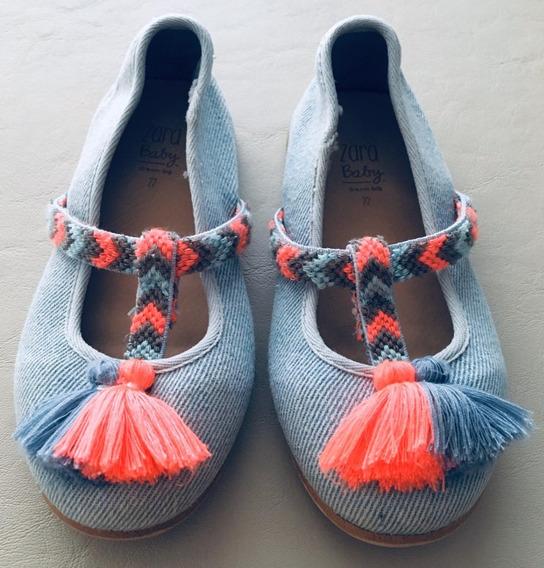 Zapatos De Nena Zara Talle 22