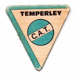 Figurita Temperley Mini Futbol 1972 Escudo
