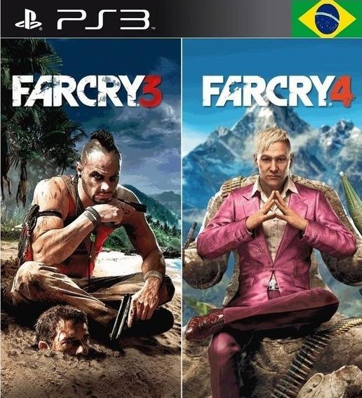Far Cry 4 + Far Cry 3 Pt-br Ps3 Psn Envio Imediato