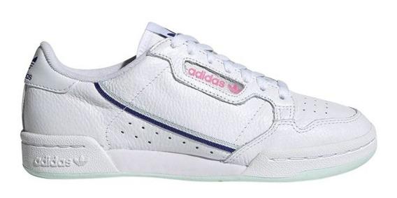 Zapatillas adidas Continental 80 W Bl/ve - Corner Deportes