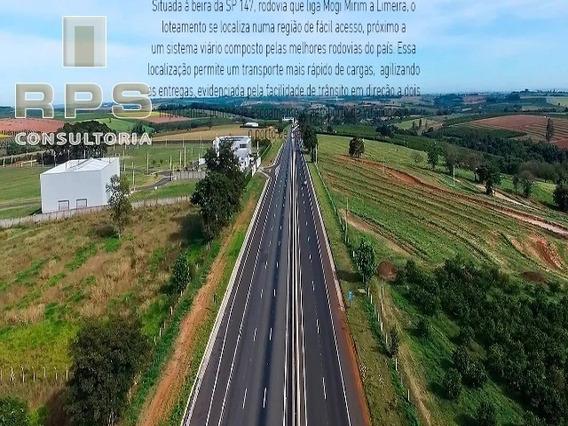 Terreno Em Condomínio Industrial Em Mogi Mirim - Limeira - Te00478 - 34355735