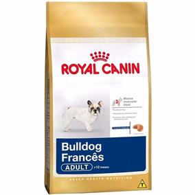 Ração Royal Canin Para Cães Adultos Bulldog Francês 7,5kg