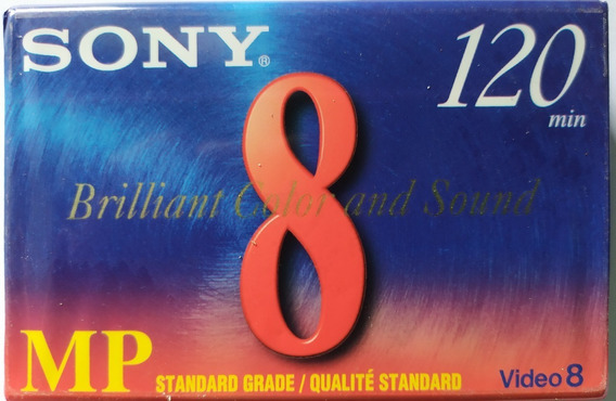 Kt 10 Fita Sony P/filmadora Hi8 Mm