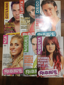 Revista Rebelde Rbd Top