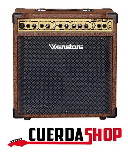 Amplificador Wenstone Kba 328 Teclado Voces Acústica 30w