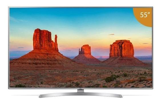 Smart Tv4k Led 55 Lg, 4 Hdmi, 2 Usb, Webos, Wi-fi Integrado