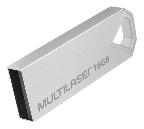 01 Pen Drive Diamond 16gb Usb Multilaser - 1 Cartela