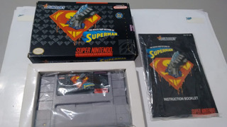 The Death And Return Of Superman - Original - Super Nintendo