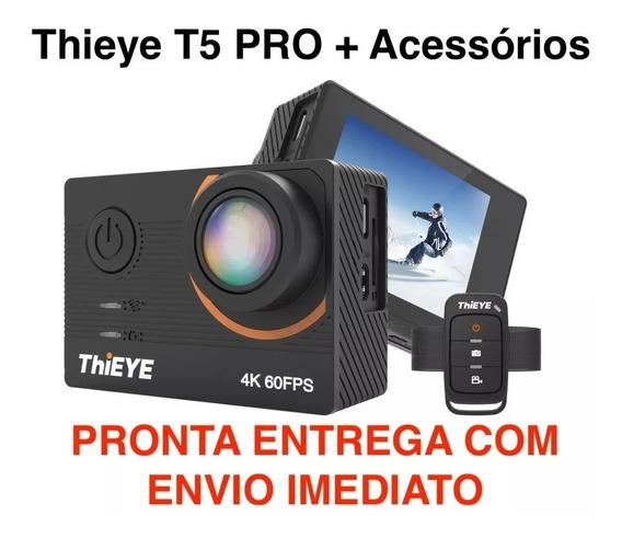 Câmera Thieye T5 Pro 4k 60fps Eis 20mp Melhor Q Gopro Hero 7