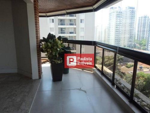 Apartamento Com 3 Dormitórios, Semi Mobiliado, Campo Belo - Ap30426
