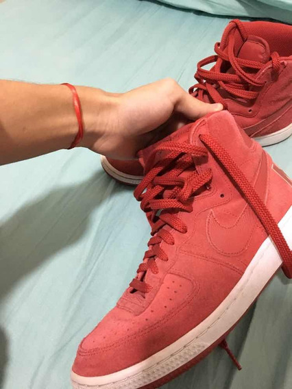 Zapatillas Nike Tipo Bota Rojas