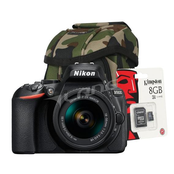 Nikon D5600 Kit 18-55 Vr Reflex Full Hd Hdmi Regalos Cuotas
