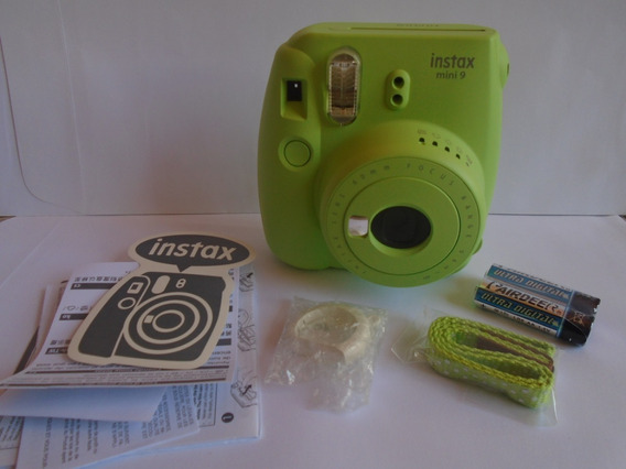 Fujifilm Instax Mini 9 + 1 Pack Film (10 Impresiones)