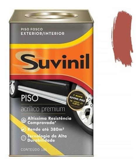 Tinta Acrílica Premium Fosca Para Piso Cerâmica 18 Litros