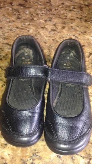 Zapatos Colegiales Niñas Negros Gran Turismo