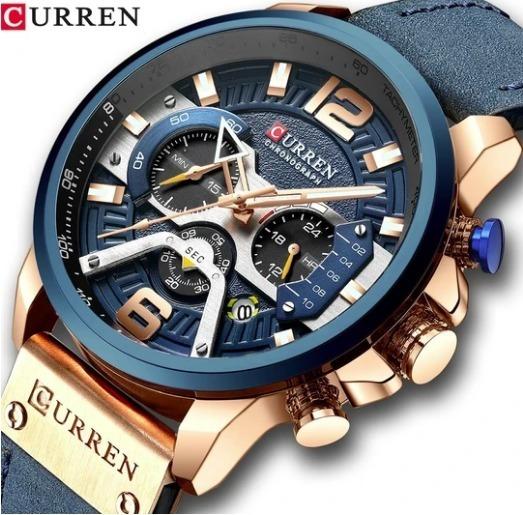 Relógio Masculino Curren 8329 A Pronta Entrega