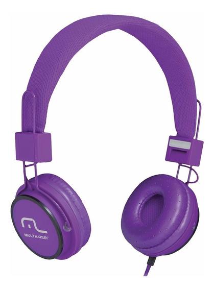 Fone De Ouvido Headphone Fun Roxo Ph090 Multilaser