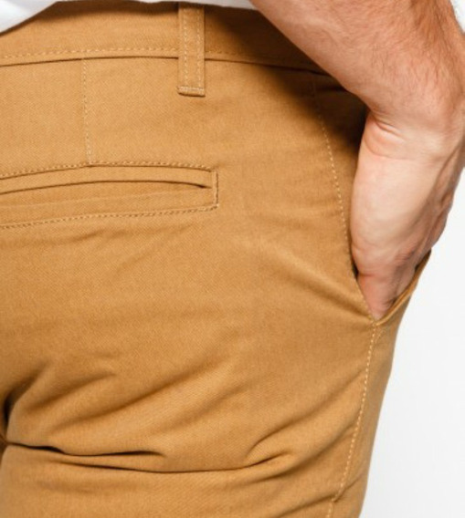 Pantalón Chino Gabardina Elastizado Premium Be Yourself