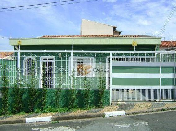 Casa Residencial À Venda, Jardim Aurélia, Campinas. - Ca1695