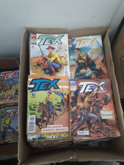 Coleção Tex Nº 01 Ao 330