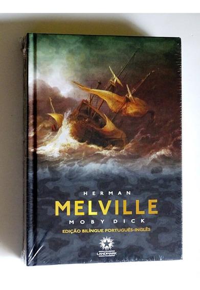 Livro Moby Dick De Herman Melville ( Lacrado ) Capa Dura
