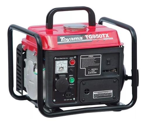 Imagem 1 de 6 de Gerador De Energia A Gasolina Tg950tx-220 900w Toyama 220v
