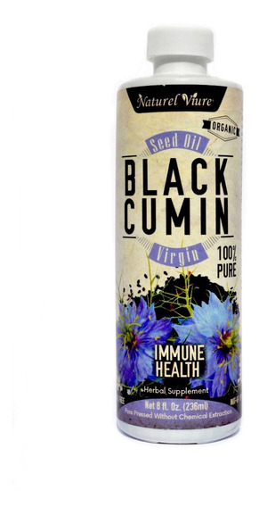 236ml Aceite De Comino Negro Ó Nigella 100%puro Prensado Fri