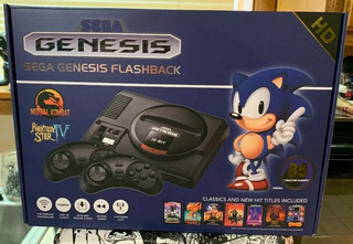 Consola Sega Genesis Mega Flashback Hd 85 Games Include