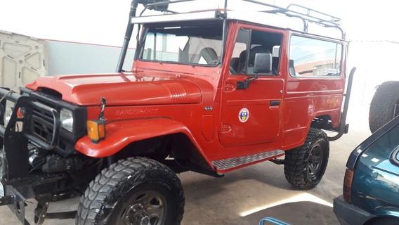 Toyota Bandeirante 4x4 Diesel Mwm Jeep Longo