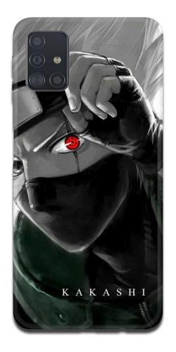 Imagen 1 de 10 de Funda Samsung A31 A21s A11 Naruto Kakashi