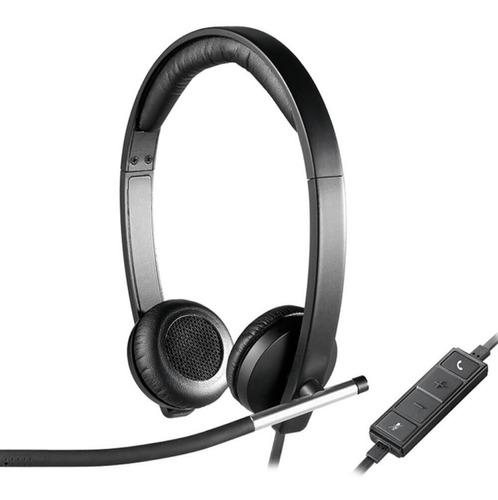 Auriculares Headset Estéreo Logitech H650e Usb