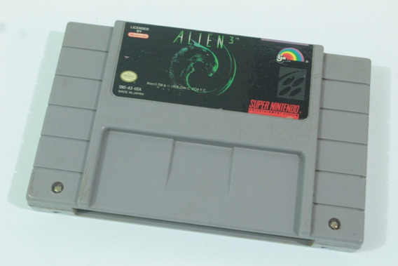 Jogo Alien 3 Usa Snes 100% Original Super Nintendo