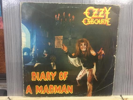 Lp - Nac - Ozzy Ozbourne - Diary Of A Madman - Frete 15