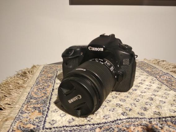 Canon 60d Com Lente 18-55mm - Ótimo Estado - 30.000 Clicks
