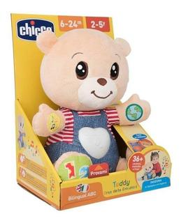 Osito Didactico Chicco Teddy Enseña Emociones Luz Y Melodias