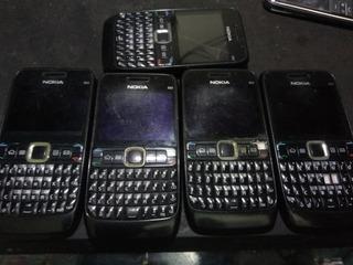Lote 5 Celulares Nokia E63 Ler Descricao 2/19