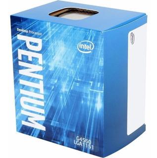 Intel Dual Core G4560 Micro Procesador Gamer 1151 Tranza