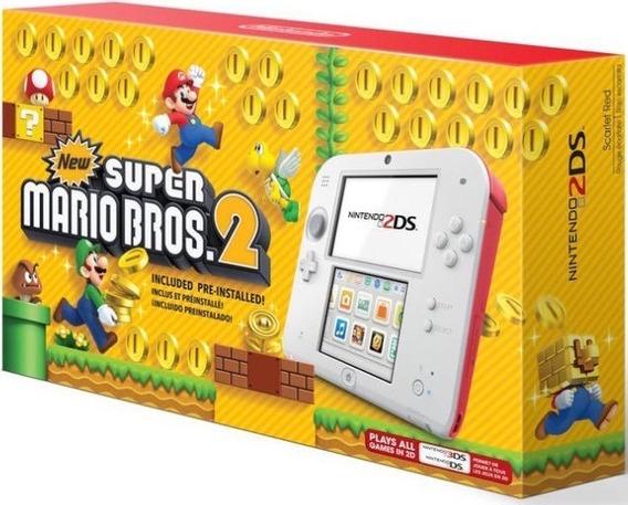 Nintendo 2ds 64gb + 300 Jogos Nintendo 3ds & Ds + Emuladores