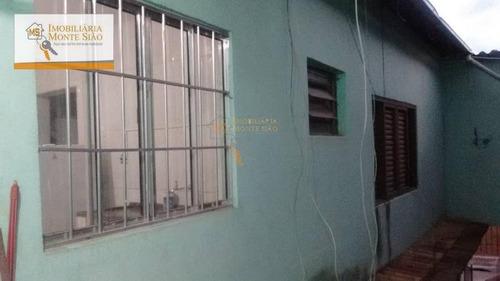 Casa Com 1 Dormitório À Venda Por R$ 200.000,00 - Chácara Cabuçu - Guarulhos/sp - Ca0083