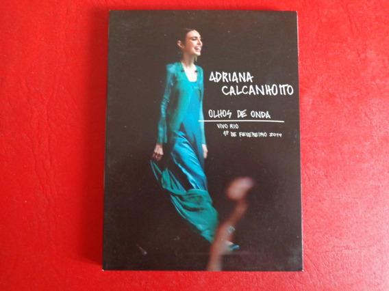 Adriana Calcanhotto Olhos De Onda Dvd Usado.