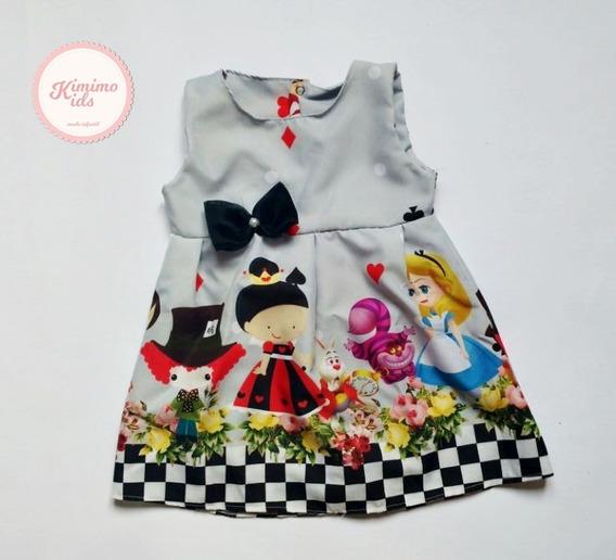 Vestido Temático Alice