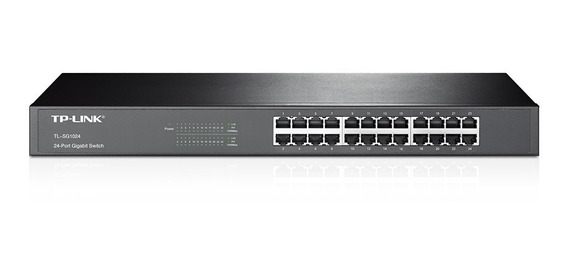 Router Tp-link Tl-sg1024 24 Puertos Rackeable