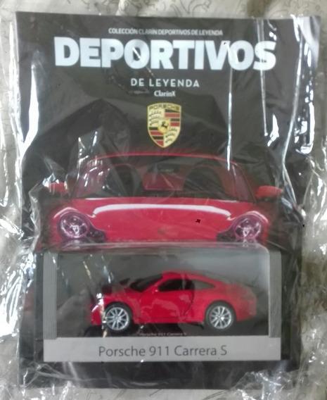 Deportivos De Leyenda. Porsche 911 Carrera Escala 1/38