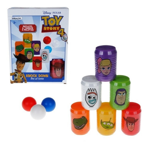 Tiro A Los Tarros Toy Story