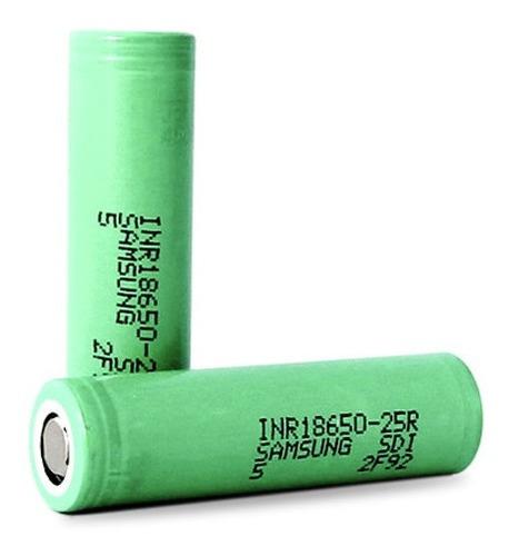 Imagen 1 de 2 de Bateria De Litio Recargable Samsung 18650 2500mah 3.7v