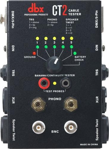 Tester De Cables Dbx Ct-2 Todas Las Conexiones El + Completo